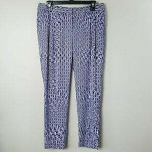 Ann Taylor LOFT Marisa Print Pants